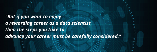 data science masters degree quote graphic
