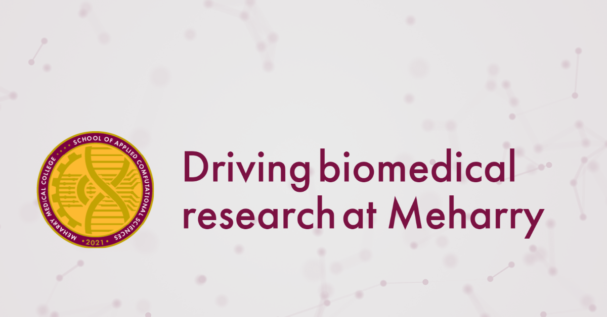 driving biomedical research at Meharry